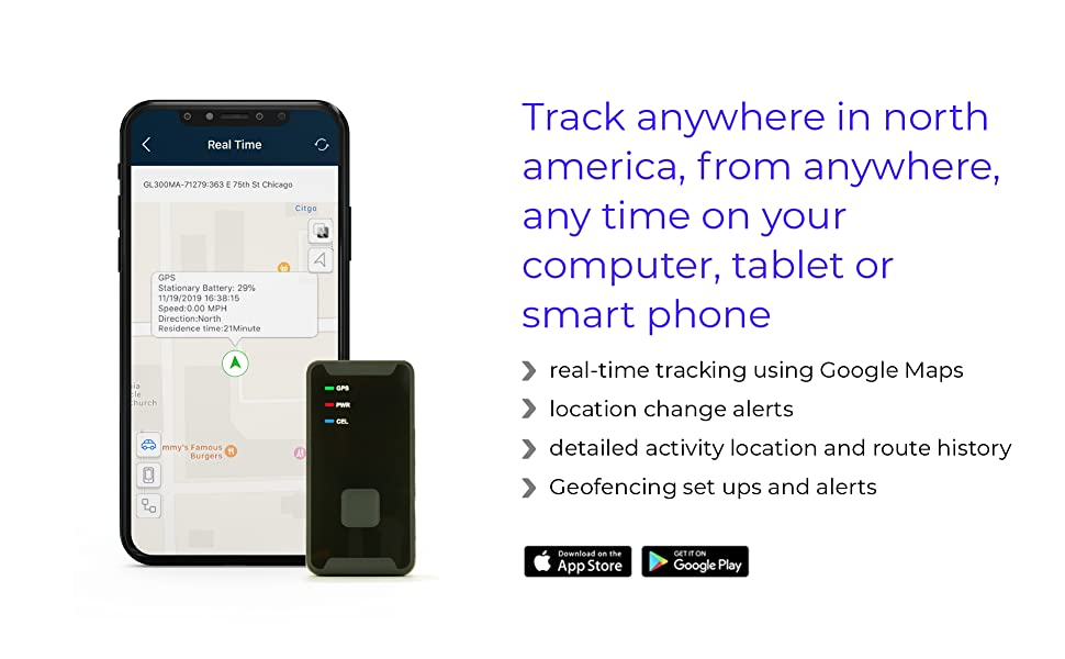 TRACK ANYWHERE IN NORTH AMERICA, FROM ANYWHERE, ANY TIME ON YOUR COMPUTER, TABLET OR SMART PHONE