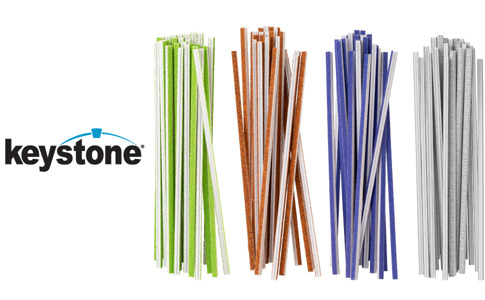 Keystone Sanding Twigs or Sticks Ideal for Woodworking Hobby Arts Crafts Models Mixed Grits