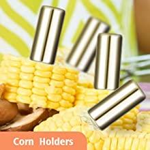 8 Corn Holders