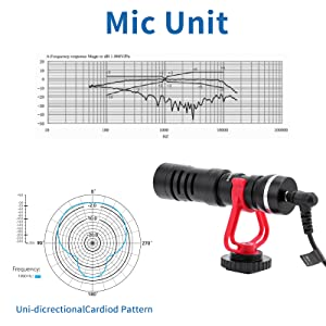 directional cardioid microphone camera microphone phone microphone