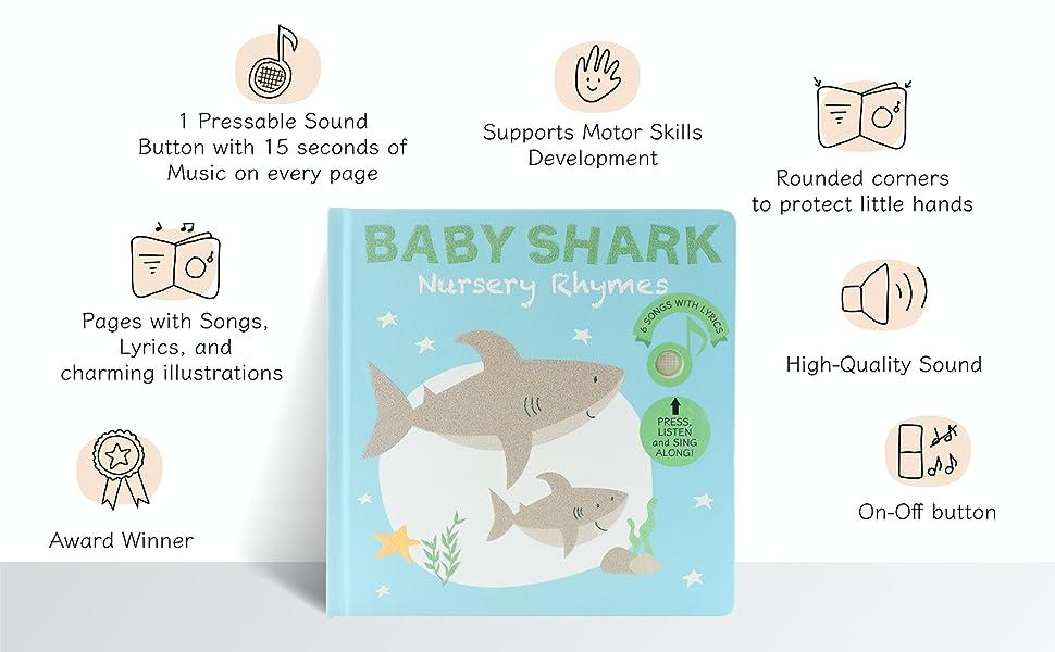 Baby Shark Calis Books