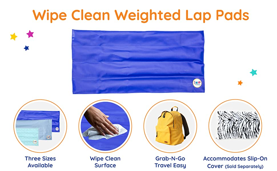 weighted lap pad fun and function