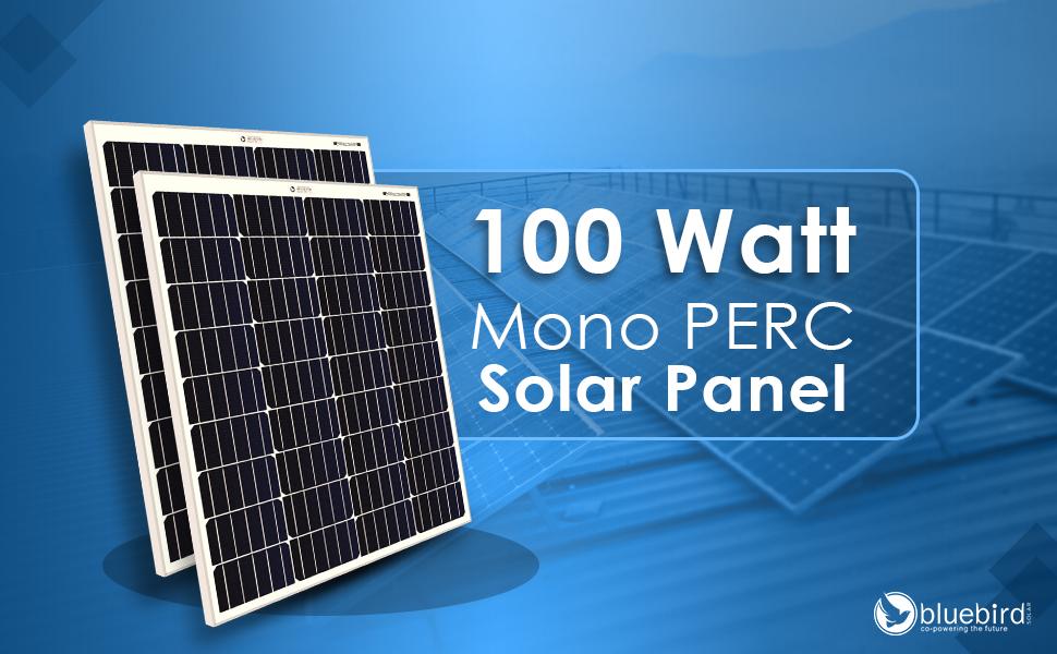 solar panel, 100 watt solar panel, mono solar panel