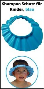 rosa Haarwaschhilfe 100/% wasserdicht Haare waschen ohne Tr/änen Shampoo Schutz f/ür Kinder mit Clip-Verschluss Kinder Duschkappe weiche Silikonhaut f/ür 0-9 Jahre Augenschutz und Ohrenschutz