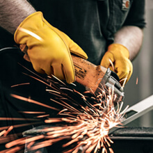 welding forge work gloves