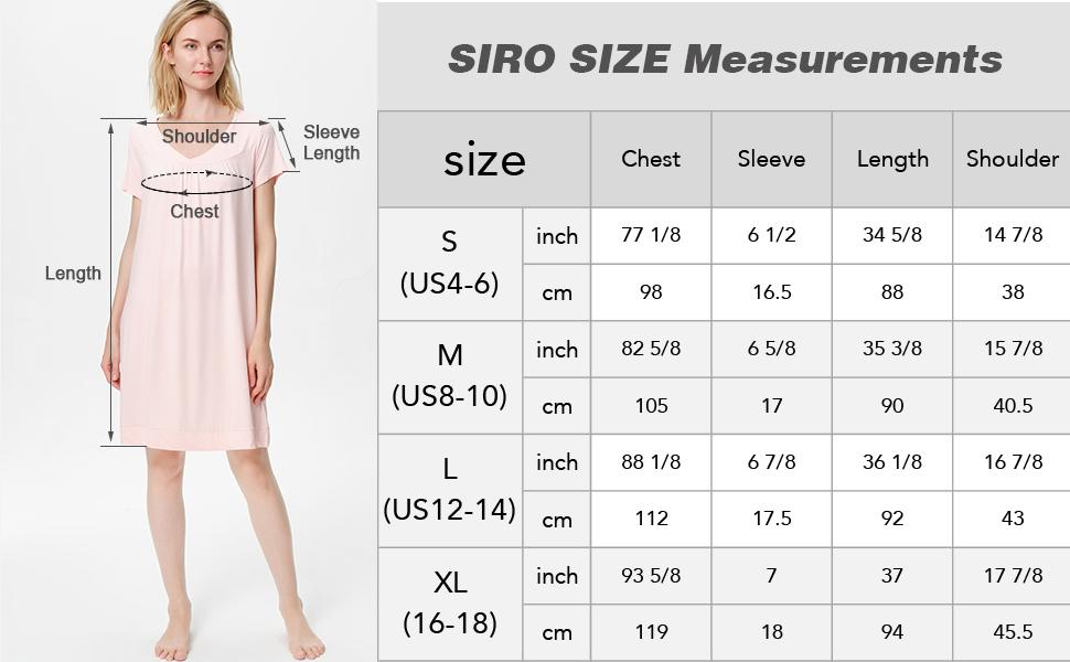 Nightgowns for women, SIORO Sleepwear, pajamas for women, womens nightgowns