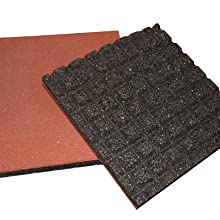 Sound deadening weight lifting mats