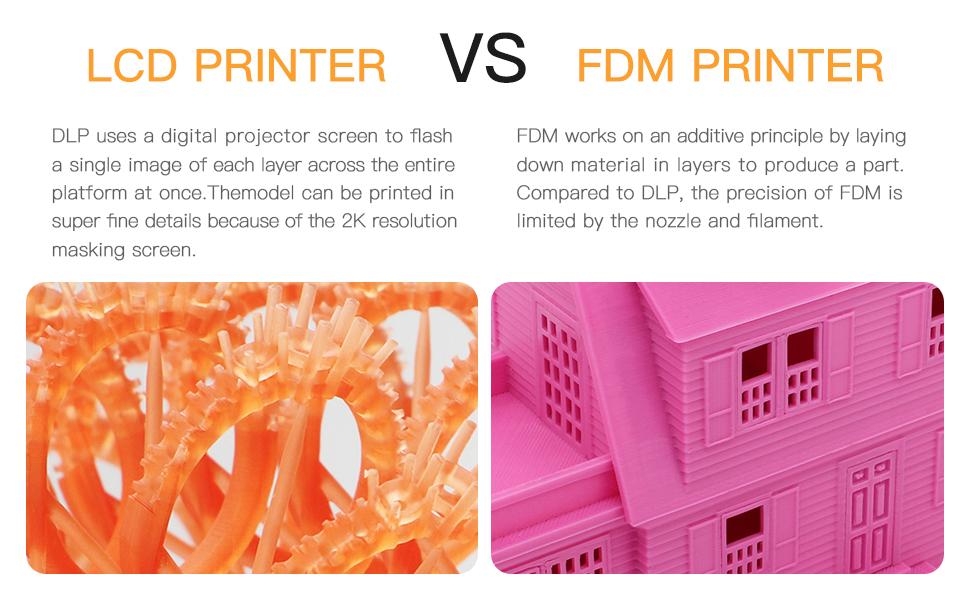 LDC und FDM 3d drucker printer