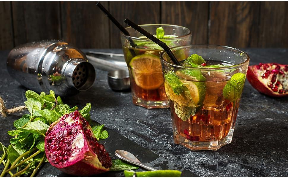 Cocktail shaker set mixer