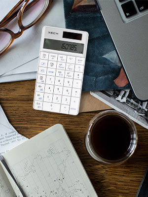 Wireless Connectivity With Bluetooth Digital Calculator Calculations Office Work Corporate Gift idea