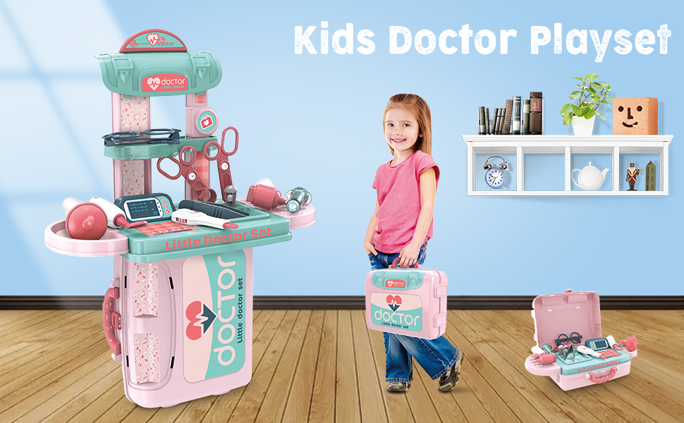 kids doctor toy kit for kids doctor playset kit for toddlers kids doctor kit set for kid doctor toy