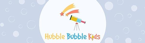 Hubble Bubble Kids Logo