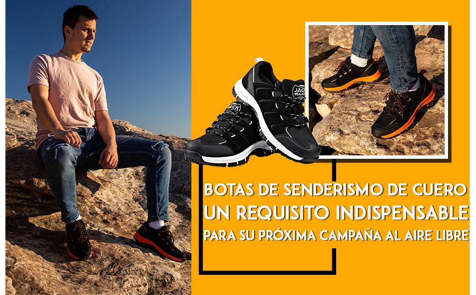 Zapatillas de Senderismo Trail Running para Hombre ultraligeras con ventilación de Baja Altura: Amazon.es: Zapatos y complementos
