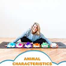 weighted animal pillow, stress relief, self-regulation tool for kids, occupational therapy toy