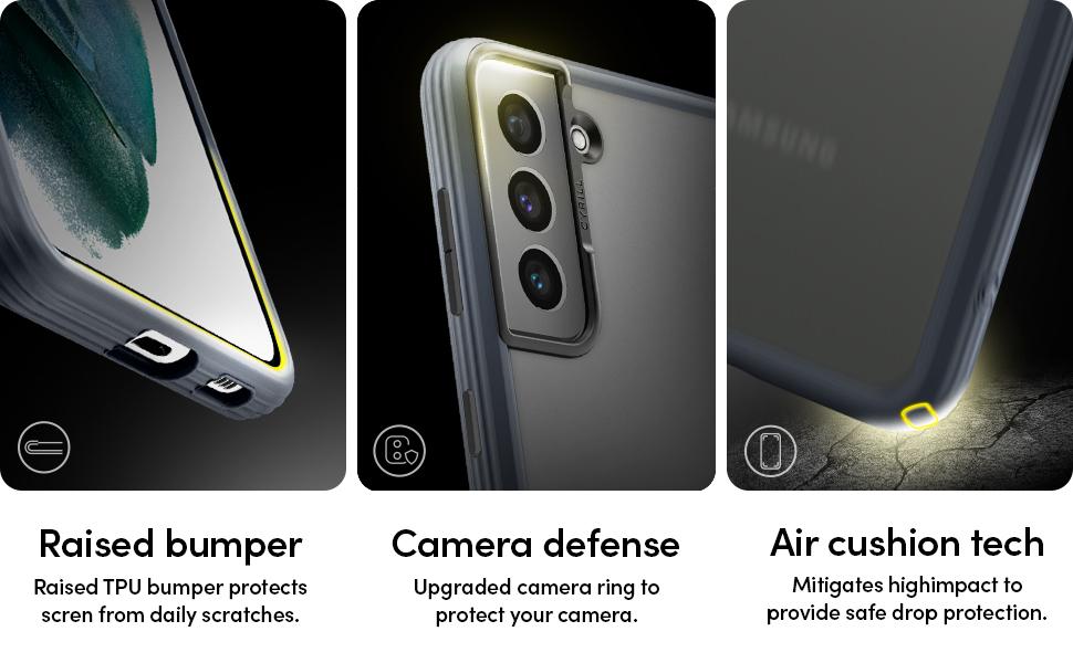 Cyrill Von Spigen Color Brick Kompatibel Mit Samsung Galaxy S21 Hülle 2021 6 2 Zoll Matte Cover Halbdurchsichtige Black Pc Rückseite Mit Soft Tpu Schwarz Elektronik