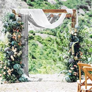 bridal shower party backdrop