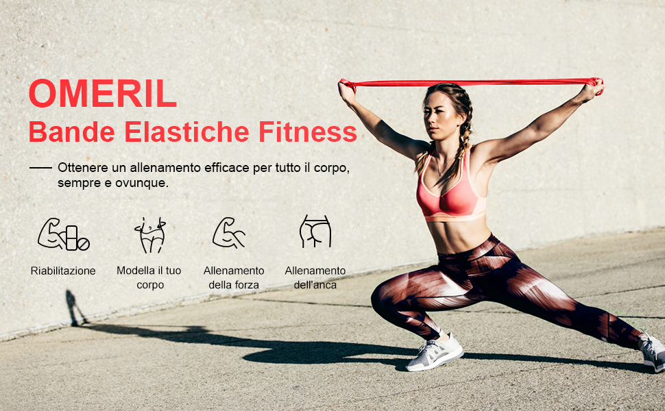 Bande Elastiche Fitness