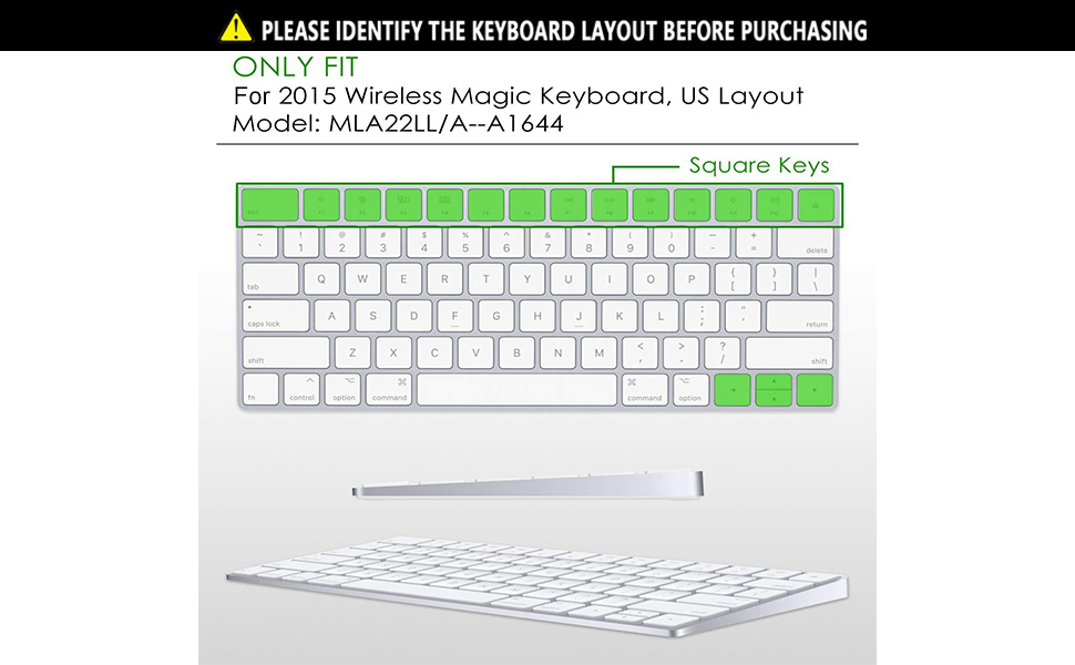 KEYBOARD COVER for macbook a1644