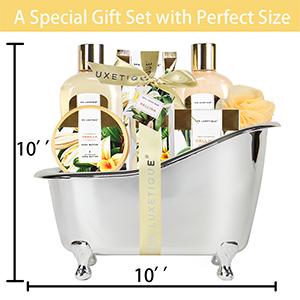 spa gift set for women vanilla bath set