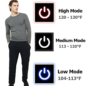 heating trousers for women