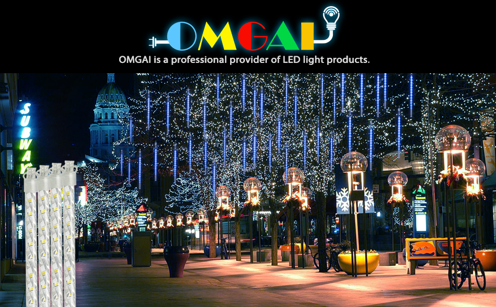 Omgai Water Proof LED Meteor Lights