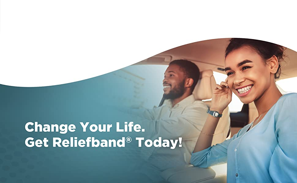 Reliefband, Nausea Relief, Drug free, Fast Acting, Premier