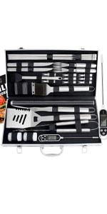 21 piece grill kit
