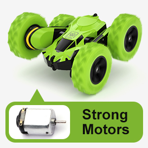 Powerful Dual Motors