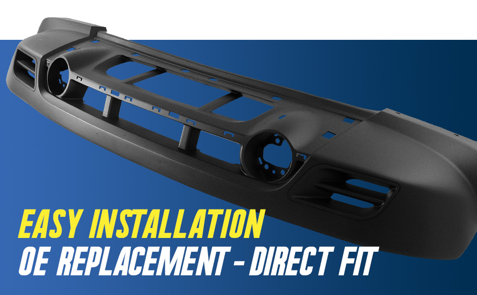Easy Installation OE Replacement - Direct Fit