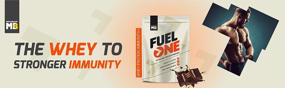 MuscleBlaze Fuel One Whey Protein Immunity