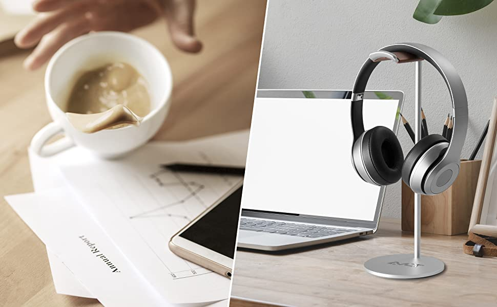 headphone stand headset holder headphones for desk rack head set earphone phone stands wireless