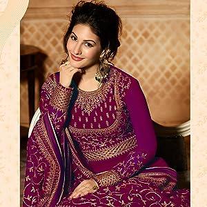anarkali salwar suit for woman