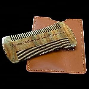 Beard Comb - Sandalwood