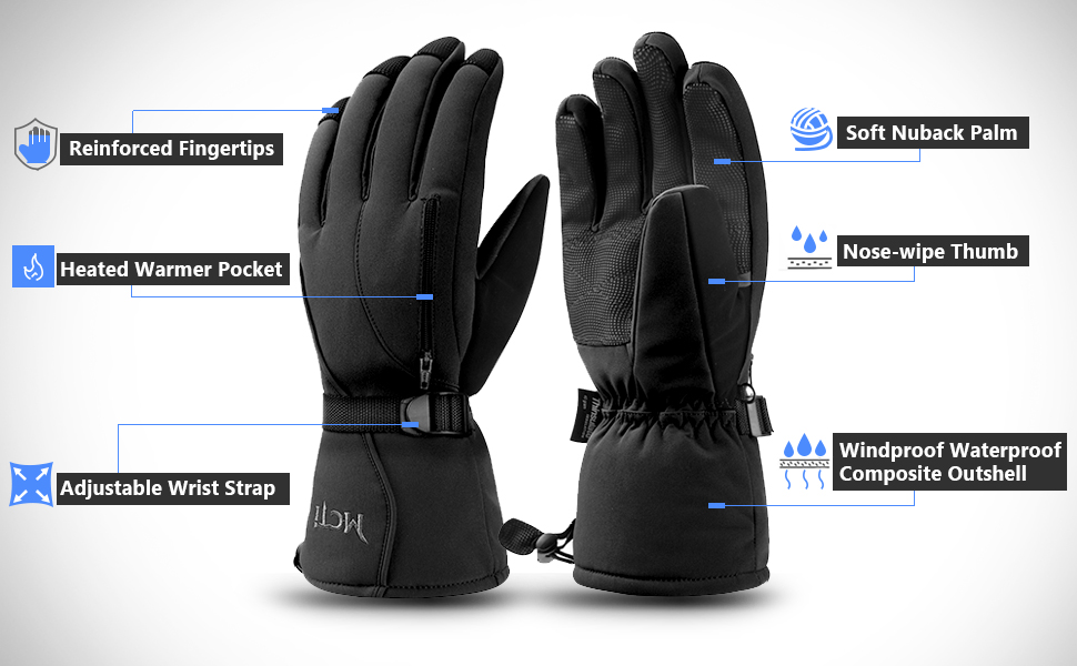 EC9 Gloves PU Coated Lightweight Black X-Large XL Size 10 B-Click PACK OF 10