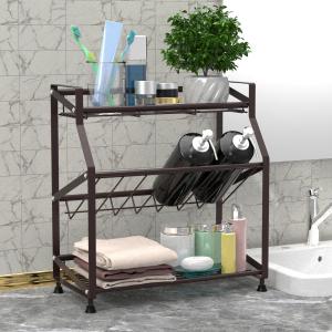 bathroom countertop organizer,countertop shelf for bathroom