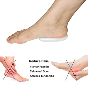 Silicone Gel Heel Cushion and Cups