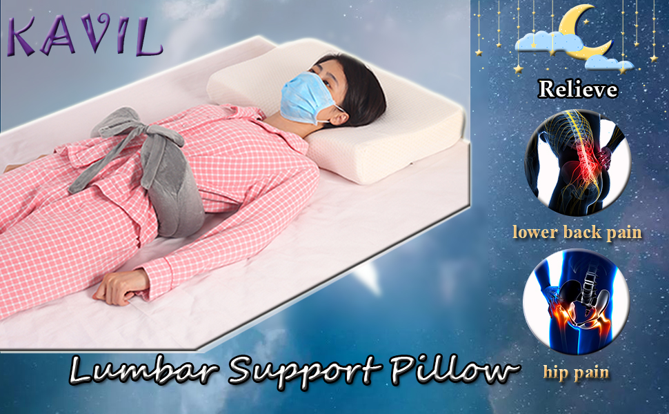 lumbar support pillow for bed