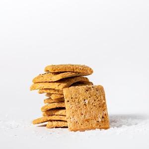 keto low carb cracker sea salt gluten free sugar free snack