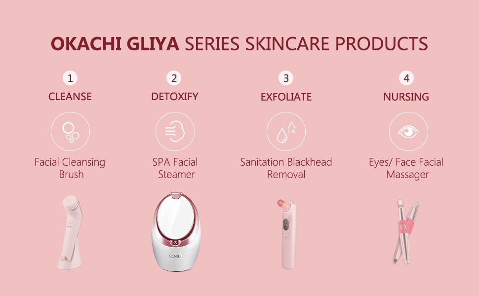 Okachi gliya series skincare product