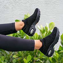 walking sock shoes