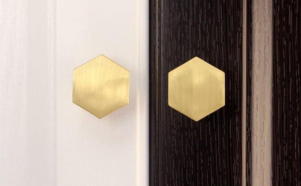 hexagon knobs