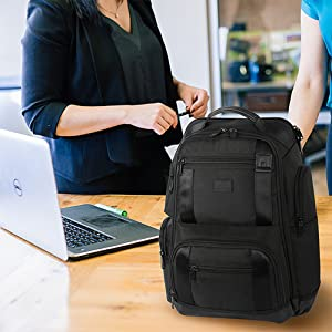 Brief Pack 17 Inch Laptop Backpack