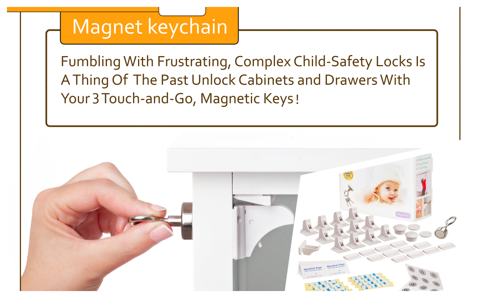 A special magnetic KEY