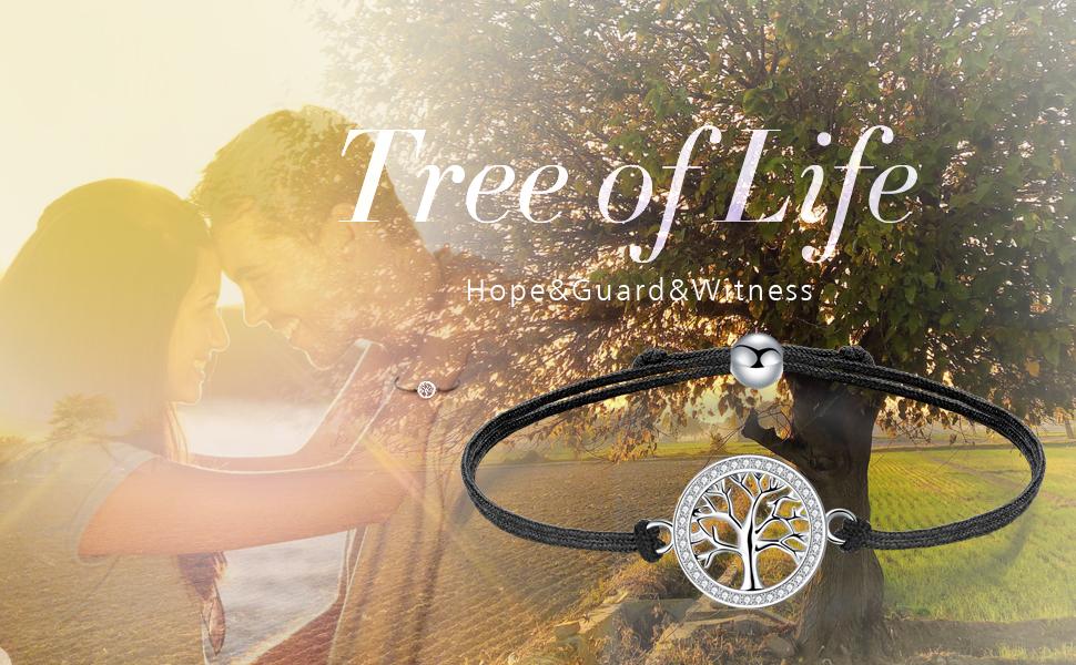 tree of life bracelet 925 silver bracelets for women
