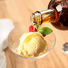 Escuminac maple syrup - ice cream