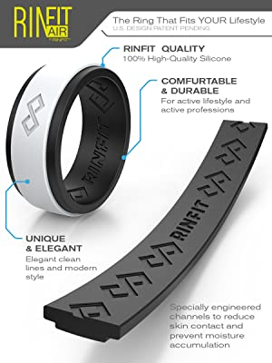 silicone rings rinfit air breatheble design
