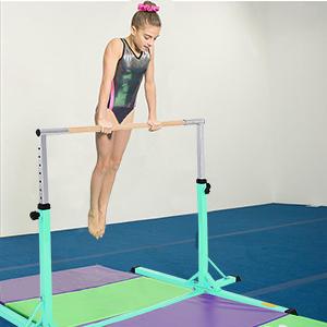 FIT4YOU Gymnastique Haut Barre 4FT Réglable Horizontal Enfants Maison Gym Sport
