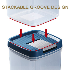 Plastic Containers Storage Set