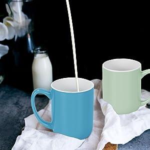 Pouring Milk to Mug