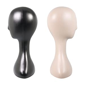 Studio Limited Professional Plastic Mannequin Head Durable Women Model Wig Stand Display Nude